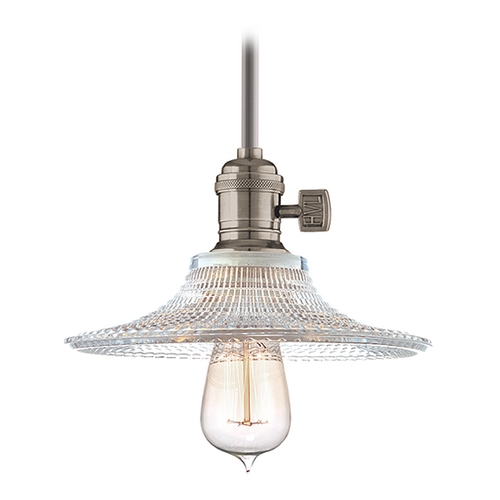 Hudson Valley Lighting Mini-Pendant Light with Clear Glass 9001-HN-GS6