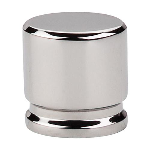 Top Knobs Hardware Modern Cabinet Knob in Polished Nickel Finish TK59PN