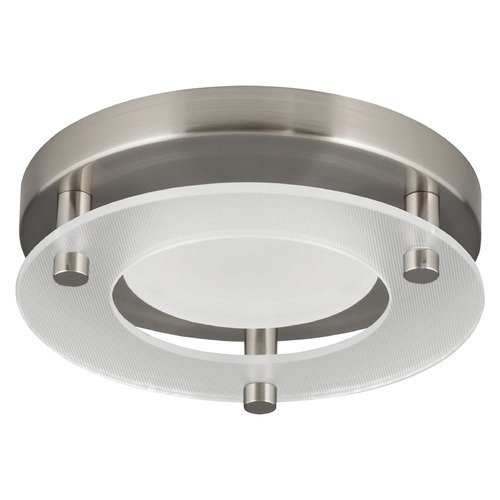 Progress Lighting Progress Lighting LED Flush Mount Brushed Nickel LED Flushmount Light P8247-09-30K