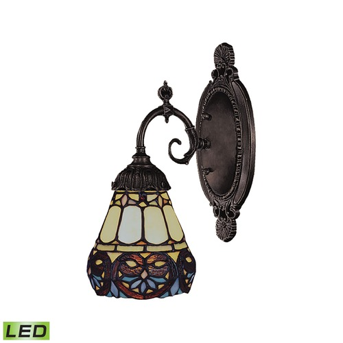 Elk Lighting Elk Lighting Mix-N-Match Tiffany Bronze LED Sconce 071-TB-21-LED