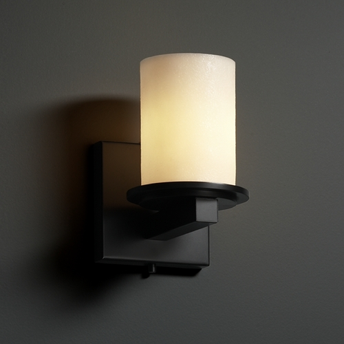 Justice Design Group Justice Design Group Candlearia Collection Sconce CNDL-8771-10-CREM-MBLK
