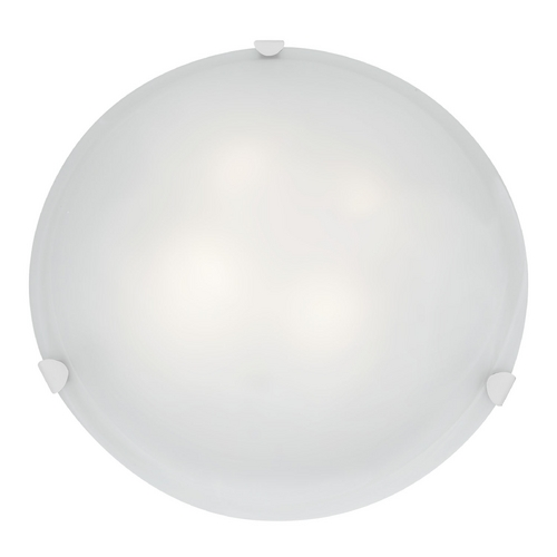 Access Lighting Access Lighting Mona White Flushmount Light C23021WHWHEN1226BS