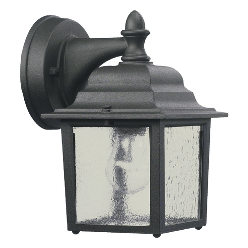 Quorum Lighting Quorum Lighting Black Outdoor Wall Light 793-15