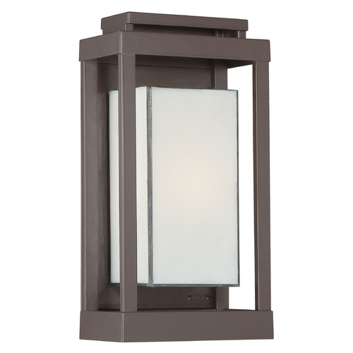 Quoizel Lighting Quoizel Powell Western Bronze Outdoor Wall Light PWL8307WTFL