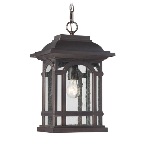 Quoizel Lighting Quoizel Lighting Cathedral Palladian Bronze Outdoor Hanging Light CAT1911PN