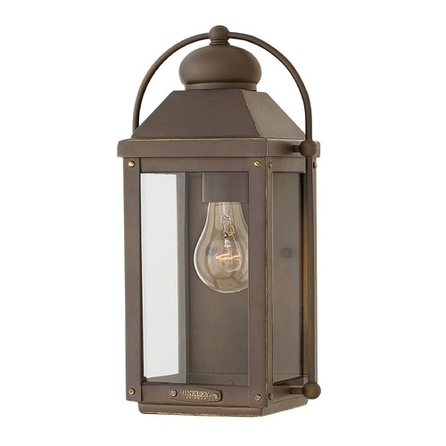 Hinkley Lighting Hinkley Lighting Anchorage Light Oiled Bronze Outdoor Wall Light 1850LZ