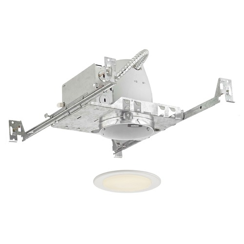 Recesso Lighting by Dolan Designs Recesso 4-Inch Non-IC Housing Shower trim for use with a Par20 bulb. TC4/T408-WH