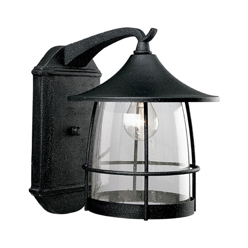 Progress Lighting Progress Outdoor Wall Light with Clear Glass in Gilded Iron Finish P5764-71