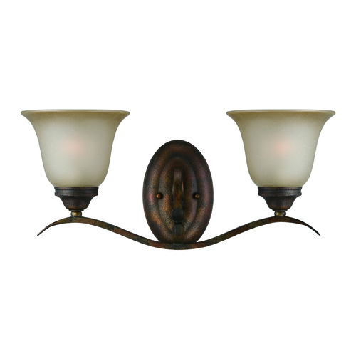 Jeremiah Lighting Jeremiah Mckinney Burleson Bronze Bathroom Light 29002-BBZ