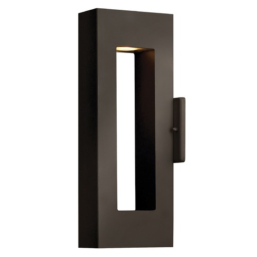 Hinkley Lighting Modern LED Outdoor Wall Light in Bronze Finish 1640BZ-LED