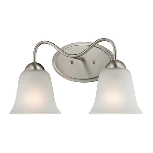 Cornerstone Lighting Cornerstone Lighting Conway Brushed Nickel Bathroom Light 1202BB/20