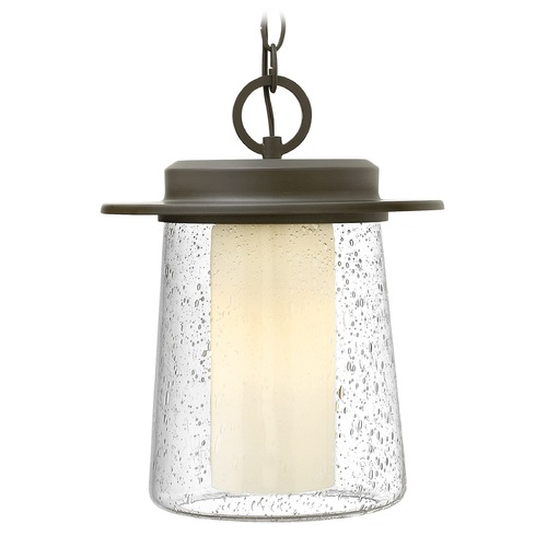 Hinkley Lighting Hinkley Lighting Riley Oil Rubbed Bronze Outdoor Hanging Light 2012OZ-GU24