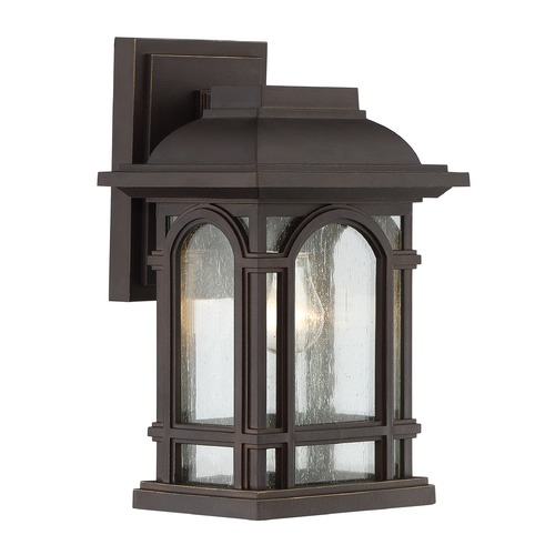 Quoizel Lighting Quoizel Lighting Cathedral Palladian Bronze Outdoor Wall Light CAT8407PN