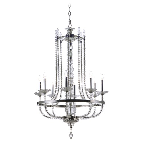Maxim Lighting Maxim Lighting Paris Polished Nickel Chandelier 30007CLPN
