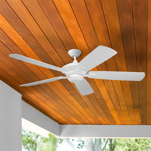 Monte Carlo Fans Ceiling Fan Without Light in White Finish 5CY60WH