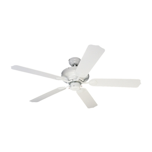 Sea Gull Lighting Ceiling Fan Without Light in White Finish 1540-15
