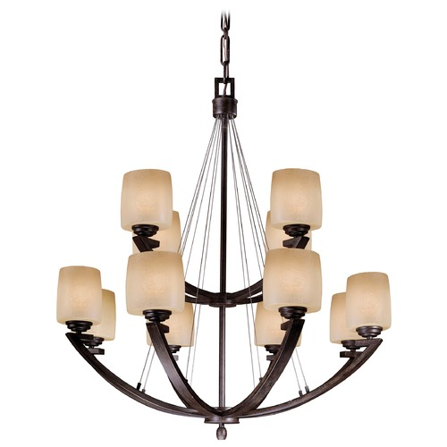 Minka Lavery Twelve-Light Chandelier 1198-357