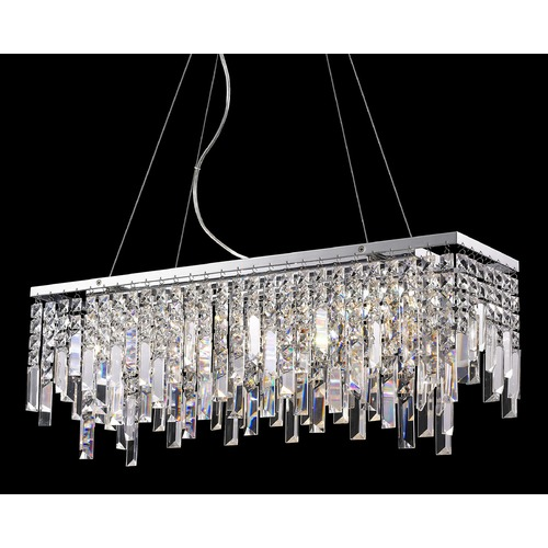 Lite Source Lighting Lite Source Helanie Chrome Island Light EL-10117