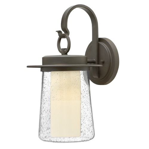Hinkley Lighting Hinkley Lighting Riley Oil Rubbed Bronze Outdoor Wall Light 2014OZ-GU24