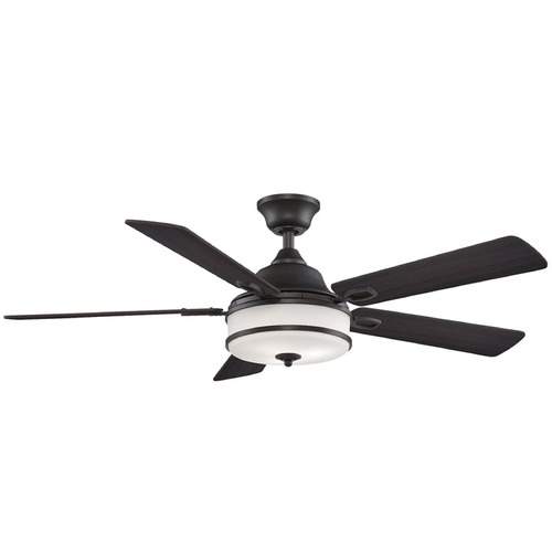 Fanimation Fans Fanimation Fans Stafford Dark Bronze Ceiling Fan with Light PL8274DZ