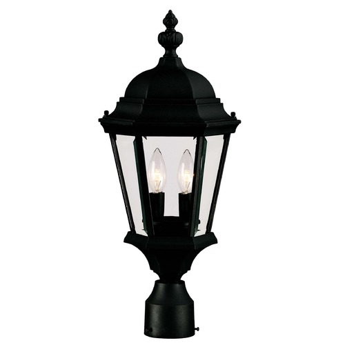 Savoy House Savoy House Textured Black Post Light 5-1305-BK