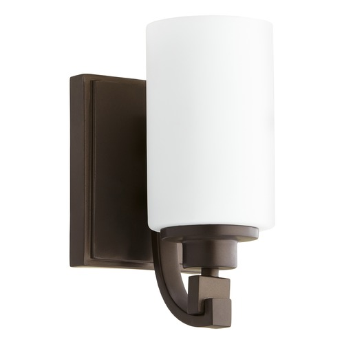 Quorum Lighting Quorum Lighting Lancaster Oiled Bronze Sconce 5407-1-86