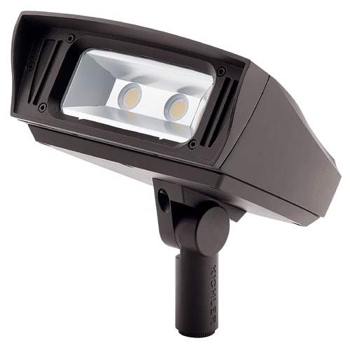 Kichler Lighting Kichler Lighting Landscape LED Textured Architectural Bronze LED Flood - Spot Light 16223AZT40