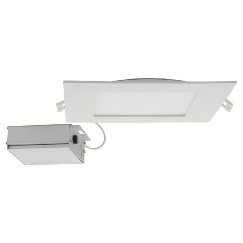 Satco Lighting Satco 24 Watt 8 inch Square LED Edge Lit Direct Wire CCT Selectable Dimmable Downlight  S11831