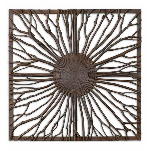 Uttermost Lighting Wall Art in Brown Finish 13777
