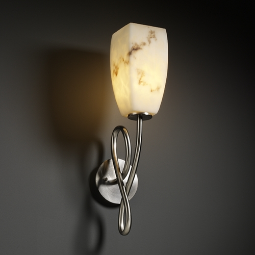 Justice Design Group Justice Design Group Lumenaria Collection Sconce FAL-8911-65-NCKL