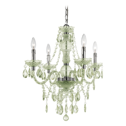 AF Lighting Naples Mini-Chandelier with Swag Kit 8355-4H