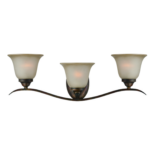 Jeremiah Lighting Jeremiah Mckinney Burleson Bronze Bathroom Light 29003-BBZ