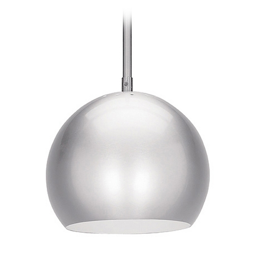 Access Lighting Access Lighting Decoball Brushed Steel Mini-Pendant Light C23636BSEN1118BS