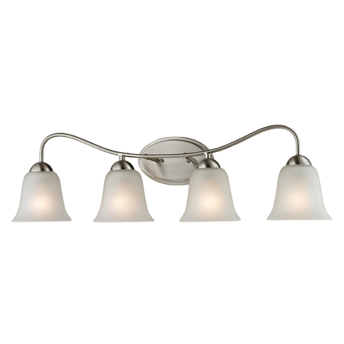 Cornerstone Lighting Cornerstone Lighting Conway Brushed Nickel Bathroom Light 1204BB/20