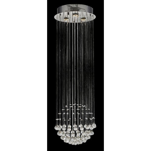 Lite Source Lighting Lite Source Sapphire Chrome LED Pendant Light EL-10119