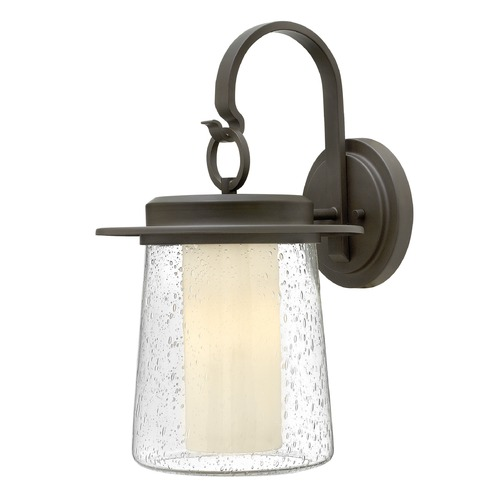 Hinkley Lighting Hinkley Lighting Riley Oil Rubbed Bronze Outdoor Wall Light 2015OZ-GU24