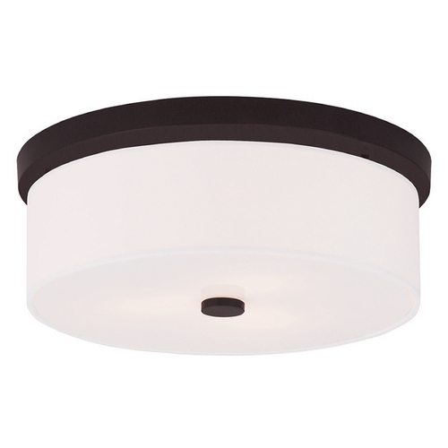 Livex Lighting Livex Lighting Meridian Bronze Flushmount Light 50864-07