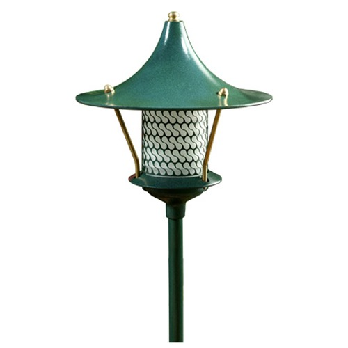 Dabmar Lighting Dabmar Lighting Green Path Light LV106A-G