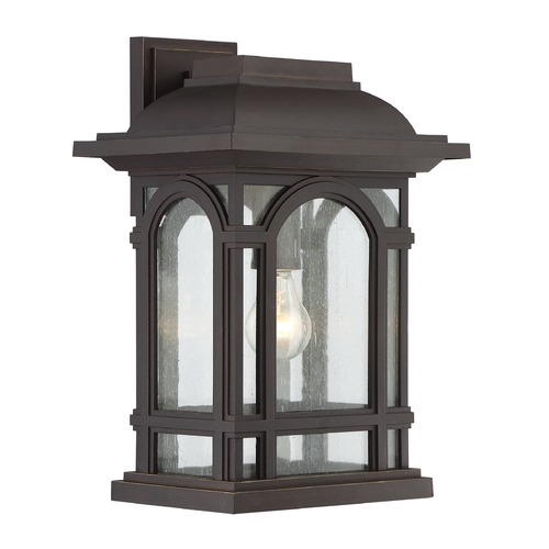 Quoizel Lighting Quoizel Lighting Cathedral Palladian Bronze Outdoor Wall Light CAT8411PN