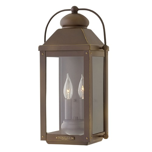 Hinkley Lighting Hinkley Lighting Anchorage Light Oiled Bronze Outdoor Wall Light 1854LZ
