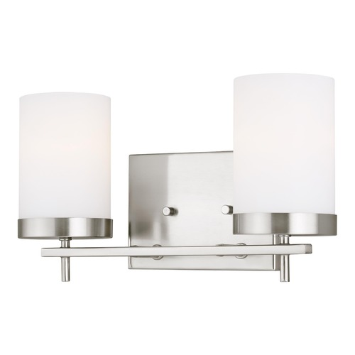 Sea Gull Lighting Sea Gull Lighting Zire Brushed Nickel LED Bathroom Light 4490302EN3-962