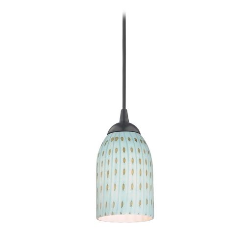 Design Classics Lighting Modern Mini-Pendant Light 582-07 GL1003D
