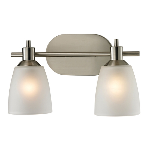 Cornerstone Lighting Cornerstone Lighting Jackson Brushed Nickel Bathroom Light 1302BB/20