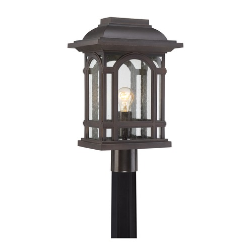 Quoizel Lighting Quoizel Lighting Cathedral Palladian Bronze Post Light CAT9011PN