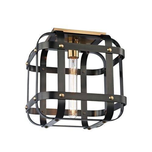 Hudson Valley Lighting Hudson Valley Lighting Colchester Aged Old Bronze Flushmount Light 6900-AOB