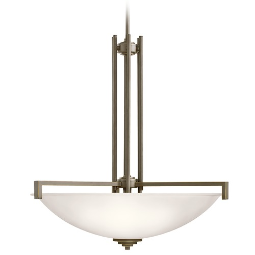 Kichler Lighting Kichler Lighting Eileen Olde Bronze LED Pendant Light with Bowl / Dome Shade 3299OZSL16