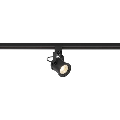 Satco Lighting Satco 12W LED Forged Series Black Dimmable Track Head 36 Deg. Beam 1020LM 3000K  TH489
