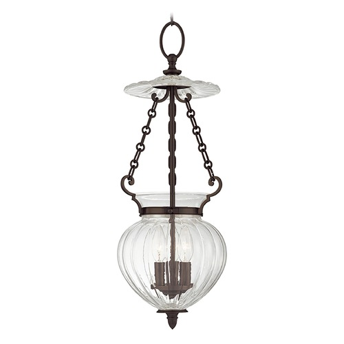 Hudson Valley Lighting Mini-Pendant Light with Clear Glass 781-OB