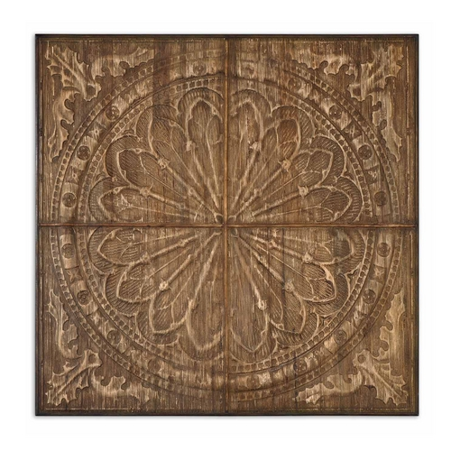 Uttermost Lighting Wall Art in Light Antique Stain Finish 13780