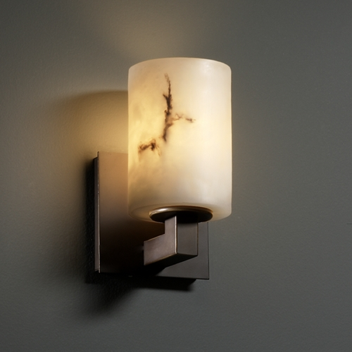 Justice Design Group Justice Design Group Lumenaria Collection Sconce FAL-8921-10-DBRZ